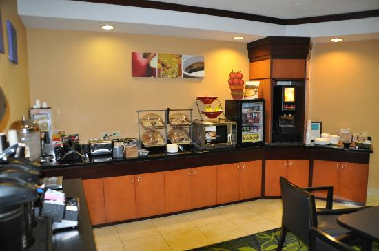 Fairfield Inn & Suites Amarillo West/Medical Center: Breakfast area