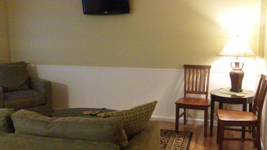 The Dahlonega Square Hotel & Villas : Miners Ridge Villa Living Room