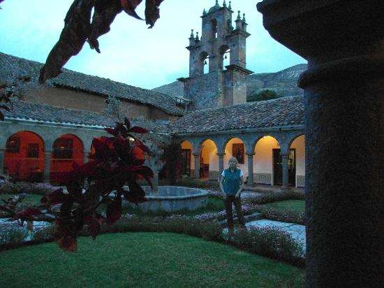 San Agustin Monasterio de la Recoleta Hotel: inner courtyard
