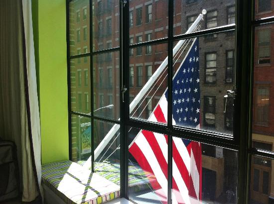 Crosby Street Hotel: Loved our view from the second floor