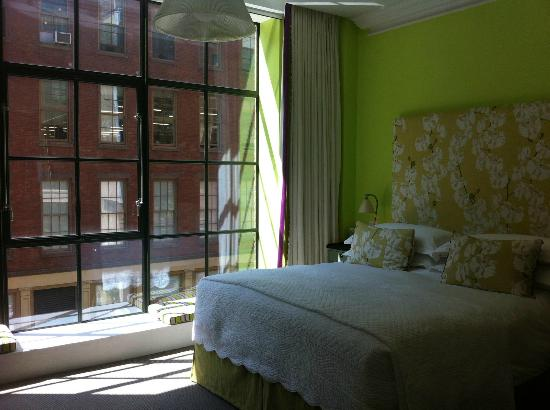 Crosby Street Hotel: Our room