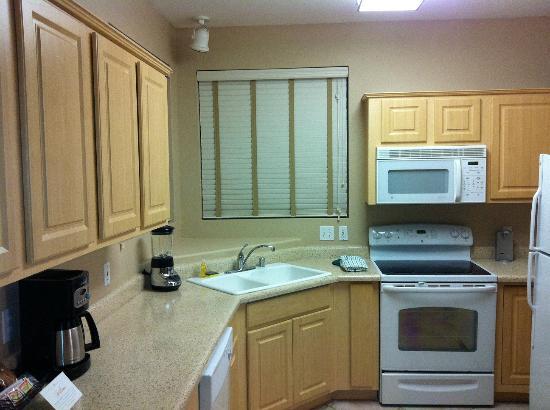 Scottsdale Links Resort: good eqiupped kitchen