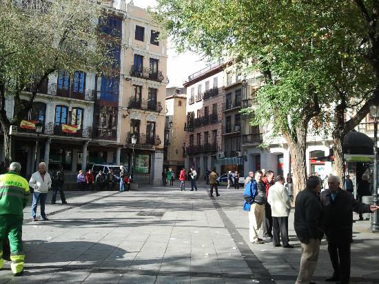 Hostal Centro : En la Plaza Zocodover, el centro de Toledo