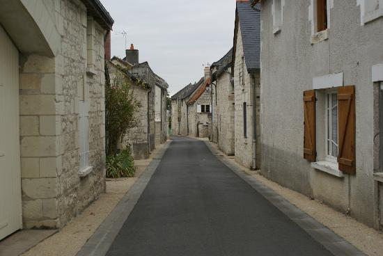 La Closerie Saint Martin: Walking through the village
