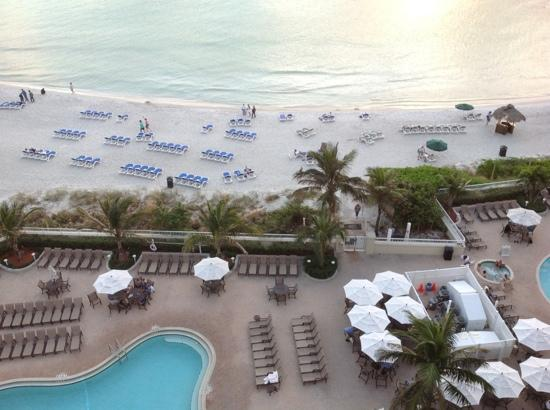 Lido Beach Resort: View from Room