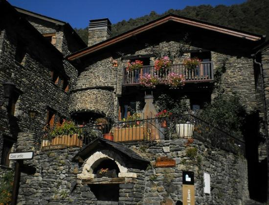 Andorra: mountain top village