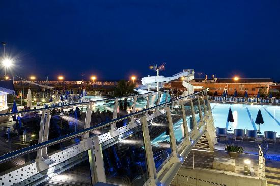 Hotel Cesare Augusto: Panoramica da terrazza roof garden