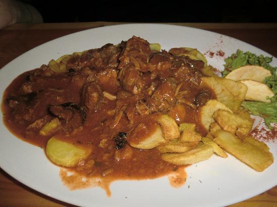 U Babci Maliny: with the potatoes