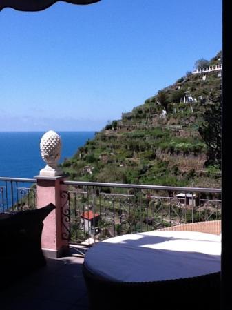 La Torretta: Balcony view