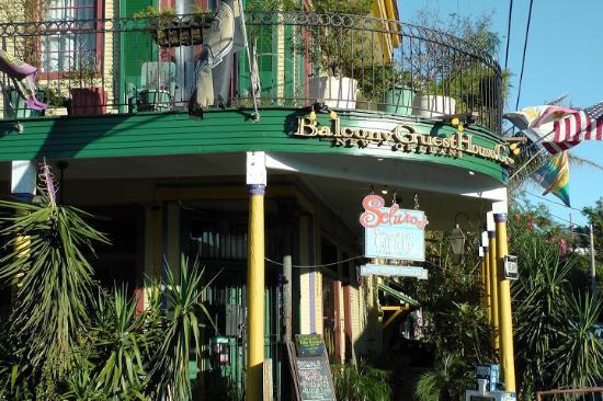 Balcony Guest House: Außenansicht