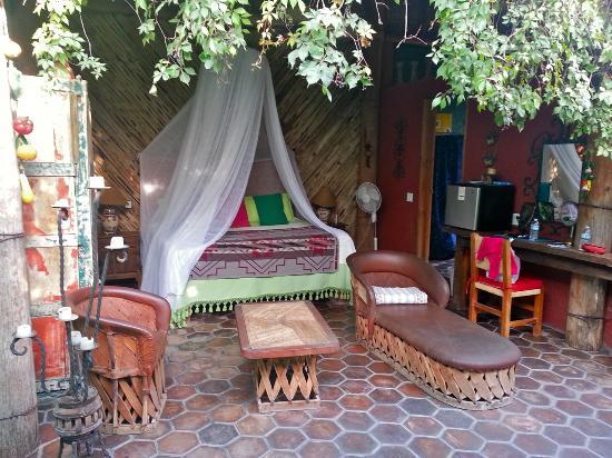 El Nido at Hacienda Escondida: Palapa room