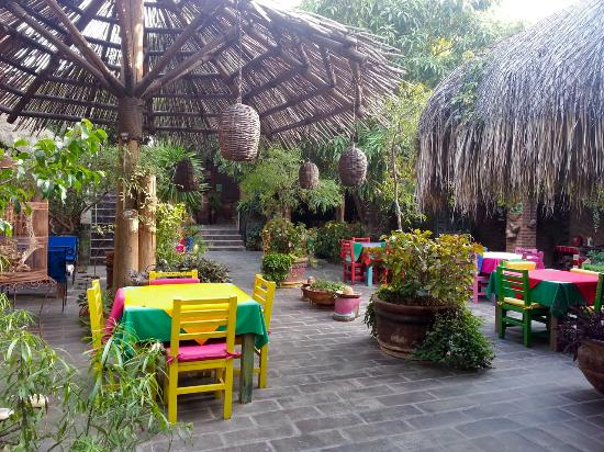 El Nido at Hacienda Escondida: Breakfast area