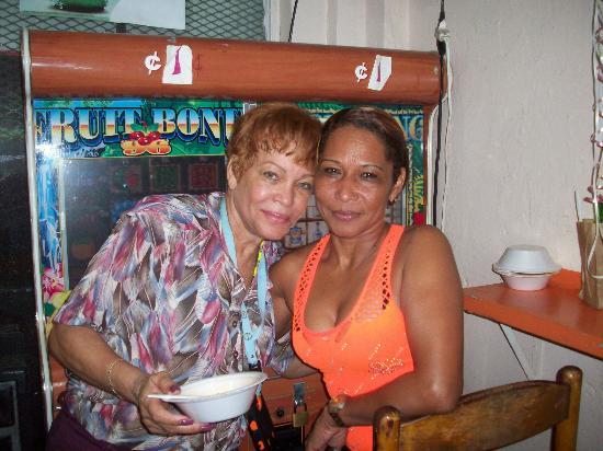 Old San Juan: Salsa Dancing Sisters