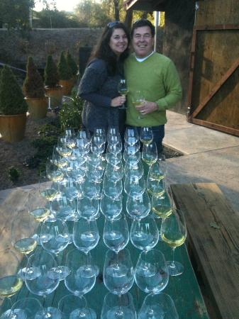 Gracianna Winery: They were ready for us!