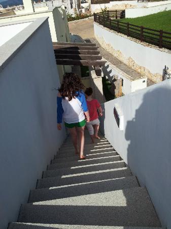 Vista Blu Resort: Terrace steps