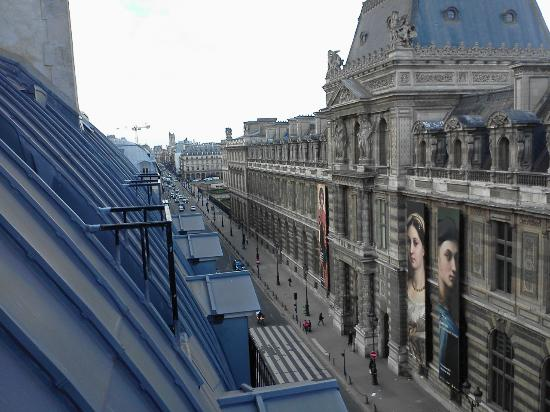 Hotel du Louvre: View from the room
