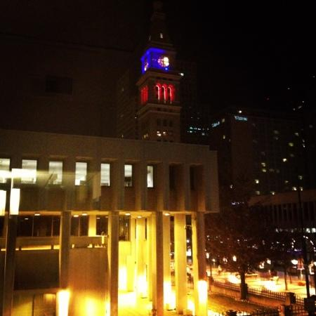 Courtyard Denver Downtown: view from our room!