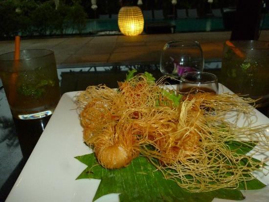 Ayara Hilltops Resort and Spa: Bar snacks