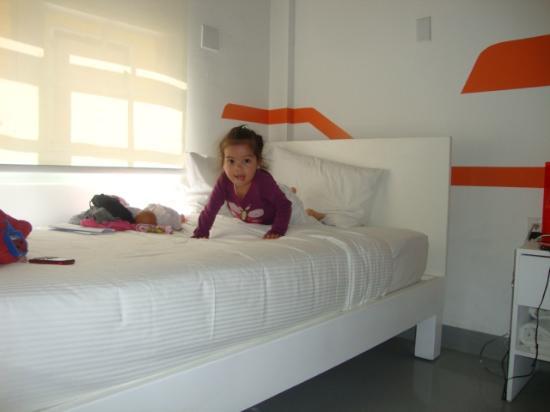 WAVE Hotel & Cafe Curacao: La habitacion