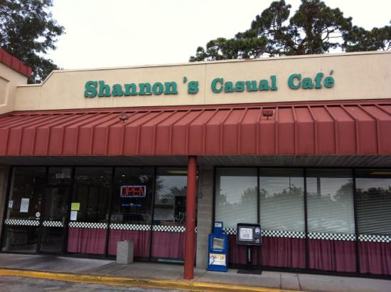 Shannon S Casual Cafe Orlando