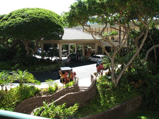 Marriott's Maui Ocean Club  - Lahaina & Napili Towers: View of the front entrance from Napili Towers