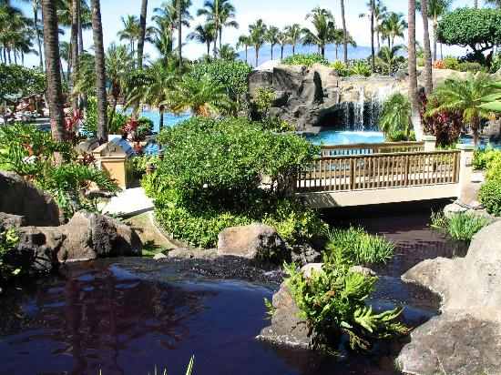 Marriott's Maui Ocean Club  - Lahaina & Napili Towers: Main pool area of resort