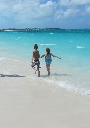 Beaches Turks and Caicos Resort Villages and Spa: beautiful Grace Bay beach