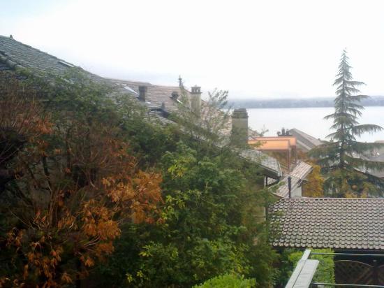 Hotel Ambassador: Vistas desde la terraza de la habitación