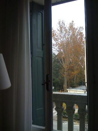 Reiter Hotel : View from 2nd floor balcony facing Gran Viale Santa Maria Elisabetta