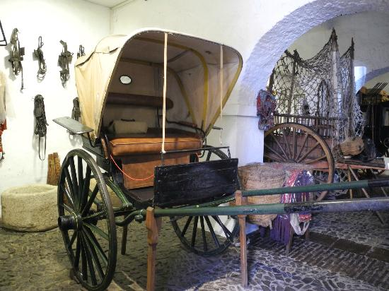 Museo de Artes y Costumbres Populares: Old carriage