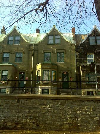 Hotel Manoir de la Terrasse: Ma chambre au 3e étage