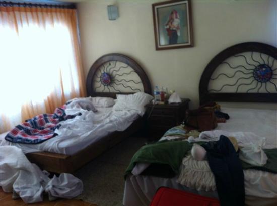 Hotel Jardines del Carmen : La chambre au dernier étage