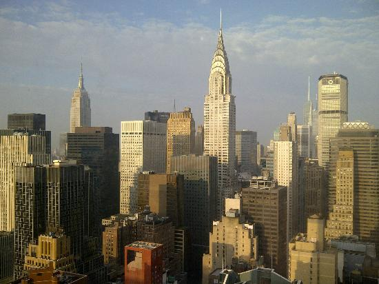 ONE UN New York : Day view from our room