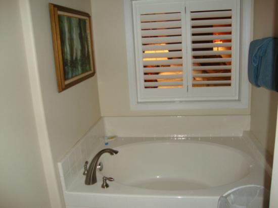 Kauai Banyan Inn: View of the tub in the bathroom area