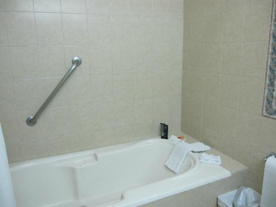 Flamingo Beach Resort And Spa: Tub