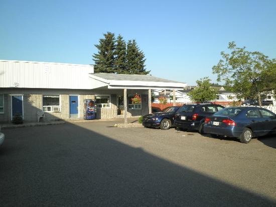 Motel de l'Aeroport: Réception du môtel