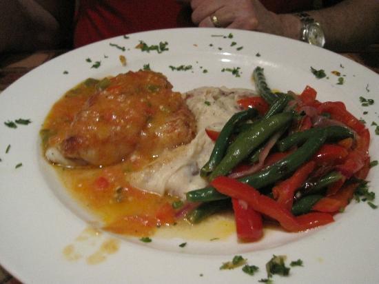 George & Wendy's Sanibel Seafood Grille : Drunken Grouper