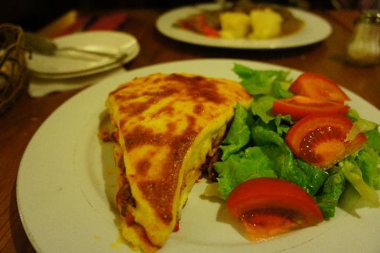Le Shang Restaurant: lasagne