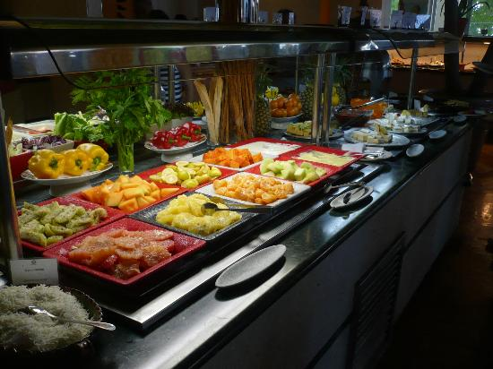 Oasis Palm: Great buffets