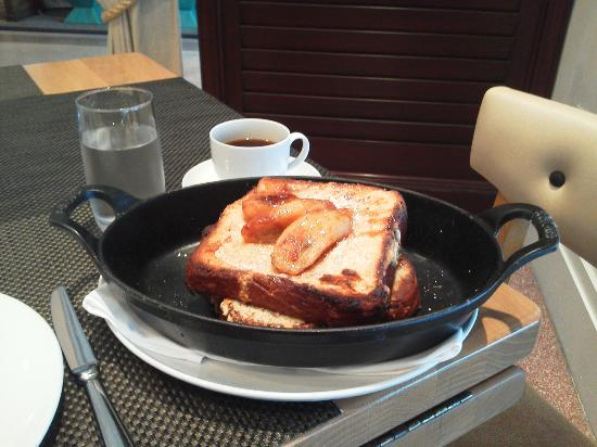 The Betsy - South Beach : almond brioche french toast at BLT Steak