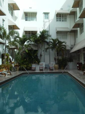 The Betsy - South Beach: pool in courtyard