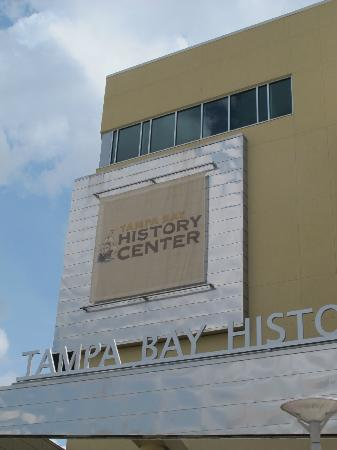 Tampa Bay History Center: The entrance