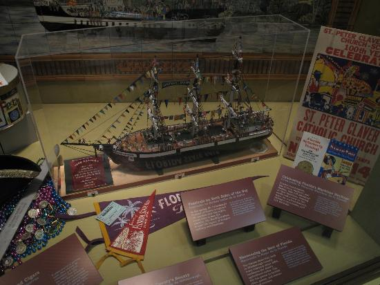 Tampa Bay History Center: Some of the exhibits