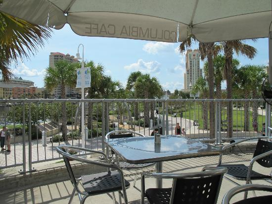 Tampa Bay History Center: The view from the patio where you can have lunch