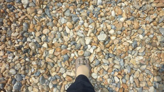 We Have Sand On Our Beaches Brighton Is Pebbles The Size