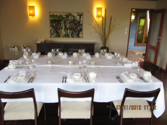 Spicers Tamarind Retreat: setting of table