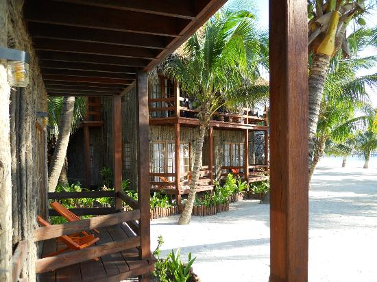 Ramon's Village Resort: View of Rooms next to ours