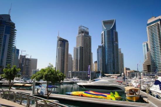 Émirats arabes unis : Marina, Dubai