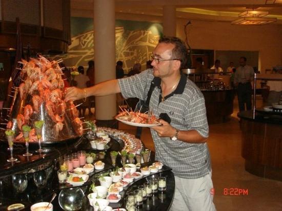 Calista Luxury Resort: hmm... great food
