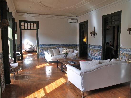 Palacio Ramalhete: Public lounge